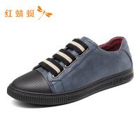 红蜻蜓男鞋秋季新款休闲经典拼接撞色运动潮流百搭板鞋鞋子男