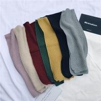秋冬儿童男童女童保暖围巾韩国针织毛线小围巾婴儿宝宝围脖