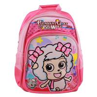 喜羊羊与灰太狼小学生书包 儿童双肩背小学书包(蓝粉 男款女款可选)XJ0156C