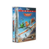 原装正版 飞机总动员1+2 DVD D9 迪士尼动画片电影碟片中英双语 逸枫