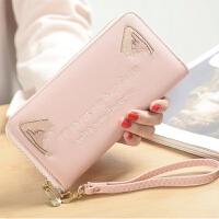 女士钱包长款可爱学生拉链手机包小清新大容量手拿包