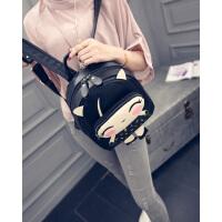 韩版时尚可爱小学生书包女士潮卡通pu皮休闲旅游小背包儿童双肩包