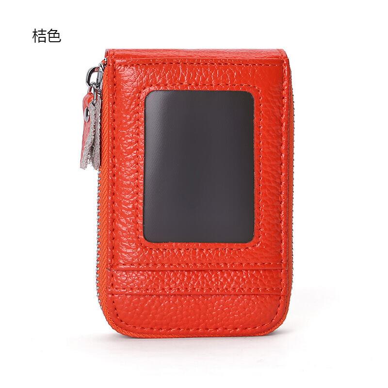 韩国可爱女真皮小款超薄装卡包小巧个性迷你多功能卡夹零钱包一体 发货周期:一般在付款后2-90天左右发货,具体发货时间请以与客服协商的时间为准