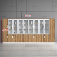 广州办公家具档案柜书柜矮柜办公柜子资料柜木质办公文件柜职员 25mm
