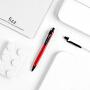 fizz低重心按动中性笔多彩0.5mm办公签字笔子弹笔学生考试笔FZ440001D-C