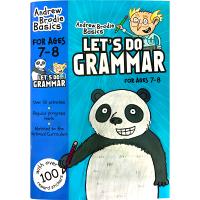 现货正版 英国小学英语语法练习册7-8岁 英文原版 原版教材 小学辅导书 Let's Do Grammar 英文版进口