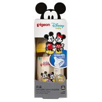 【当当自营】Pigeon 贝亲 Disney自然实感宽口径PPSU彩绘奶瓶160ml配SS奶嘴(米奇米妮-爱心)AA160