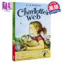 英文原版Charlotte's Charlottes Web 夏洛特的网/夏洛的网 E.B White怀特 纽伯瑞经典儿童文学【中商原版】
