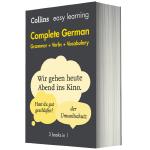 英德双语词典字典 柯林斯轻松学德语全书英文原版书 Collins Easy Learning German 语法动词词