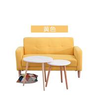 北欧沙发小户型布艺简易卧室出租房用客厅整装双人二人服装店少女