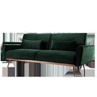 北欧沙发床多功能可折叠坐卧两用客厅简约现代小户型绒布沙发 2米以上