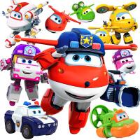 奥迪双钻超级飞侠玩具全套大号变形机器人第六季新款小柔奇奇变形机器人
