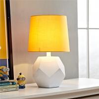 欧式创意客厅台灯简约现代立体儿童卧室房间温馨床头灯书房灯饰