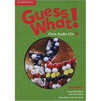 Guess What! Level 3 Class Audio CDs (2) British English
