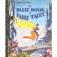 The Blue Book of Fairy Tales (Little Golden Book)蓝色童话(金色童书)