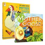 顺丰发货 英文原版 鹅妈妈童谣绘本全版合集2本套装 My Very First Mother Goose Sylvia