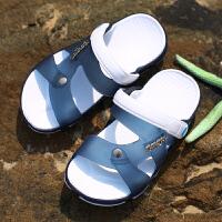 男童拖鞋夏季宝宝中大童拖鞋儿童沙滩鞋男生浴室防滑凉拖鞋洞洞鞋