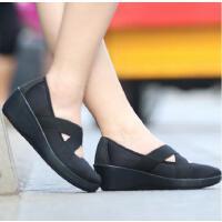 【下单立减120】CROCS卡洛驰女鞋休闲鞋单鞋厚底交叉松紧带|205306 优雅轻盈束带坡跟鞋
