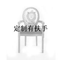 20190817160721462美甲椅子现代简约家用凳子靠背复古餐厅时尚欧式美式北欧实木餐椅
