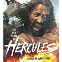 英文原版 大力神 巨石强森 电影版画册 The Art and Making of Hercules
