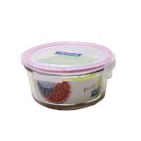 正品韩国三光云彩GLASSLOCK玻璃饭盒微波炉专用保鲜盒MCCT-073/RP751 730ml