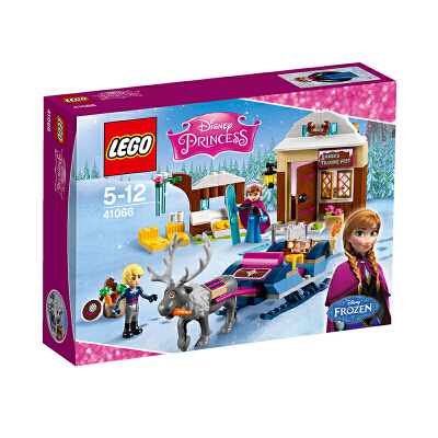 美国直邮 LEGO乐高 迪士尼公主41066安娜与克斯托夫的雪橇探险 海外购 安娜与克斯托夫的雪橇探险
