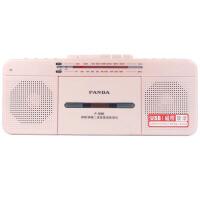 熊猫/PANDA F-336 语言复读机收录机台式磁带U盘复读机磁带录音机收音机MP3播放器播放机usb学习机 红色