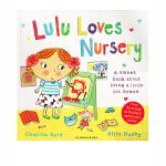 顺丰包邮 英文原版 Lulu Loves Nursery 露露爱上学 幼儿故事图画书 露露 Lulus系列 儿童启蒙认