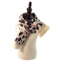 韩版儿童围巾男童女童毛线女孩 潮宝宝加厚针织保暖围脖