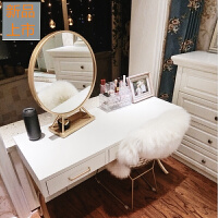 北欧梳妆台简约卧室飘窗小户型简易迷你经济型网红ins化妆桌子定制 组装