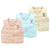 童婴儿衣服装0岁3个月宝宝马甲外套6新生儿马夹保暖冬装