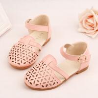 女童凉鞋公主鞋镂空包头宝宝鞋儿童沙滩鞋女童鞋