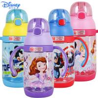 迪士尼儿童可爱手柄卡通夏天饮水杯幼儿430ML学饮杯HM3226