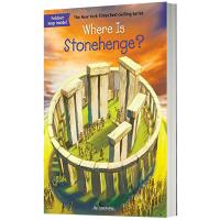 巨石阵在哪里 英文版原版 Where is Stonehenge? 英文原版儿童桥梁章节书 中小学生读物 现货正版进口