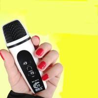 苹果安卓唱吧麦克风 手机K歌电脑yy迷你电容麦套装录音专用小话筒