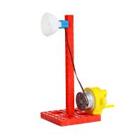 儿童科学小制作玩具小学生科学实验器材科技小发明自制手摇发电机