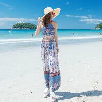 性感游泳衣女分体钢托聚拢小胸泰国沙滩度假平角比基尼三件套泳装