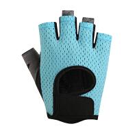 健身手套女士运动骑行透气防滑耐磨半指手套训练瑜伽单车薄款手套