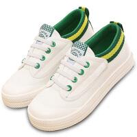 儿童帆布鞋春季男童布鞋女童板鞋一脚蹬懒人鞋透气