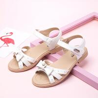 女童鞋子 凉鞋夏季儿童透气时尚公主小童休闲