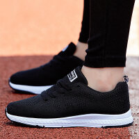 男鞋夏季男士运动鞋情侣跑步鞋透气休闲鞋网鞋2018新款学生鞋子潮