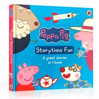 儿童英文原版绘本 Peppa Pig Storytime Fun 粉红猪小妹附CD 小猪佩琦 佩奇 低幼宝宝启蒙进口英