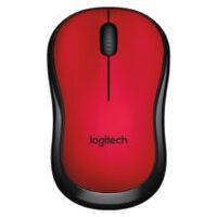 罗技(Logitech)M220 无线静音鼠标 红色  全新盒装行货