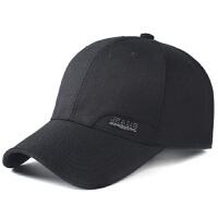 中年男帽子春秋天男士棒球帽夏季布料休闲老人帽中老年鸭舌帽薄款