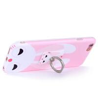 洛夫特 苹果6plus手机壳支架iphone6软胶防摔6s挂绳卡通可爱女款