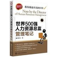 世界500强人力资源总监管理笔记 企业人力资源管理实操教材 人事行政管理书籍 hr管理方法 面试技巧 人力资源开发与管