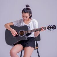新手练习入门吉它初学吉他40寸41寸民谣木吉他