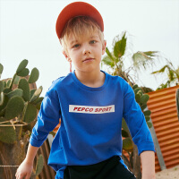【3件3折到手价:46】小猪班纳童装男童长袖T恤2020春装新款儿童圆领上衣打底衫中大童