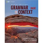 英文原版 Grammar in Context Basic: Student Book/Online Work 国家地