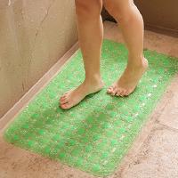 大号浴室防滑垫pvc洗澡卫生间地垫淋浴房厕所隔水脚踏垫子家用